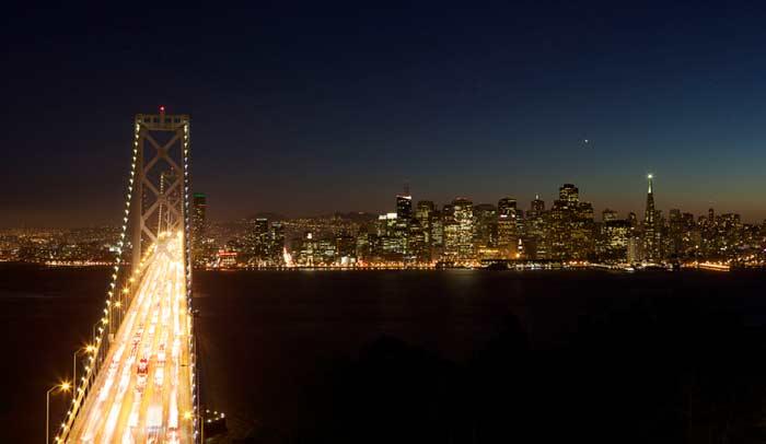 Golden Gate y Skyline de San Francisco © San Francisco Travel