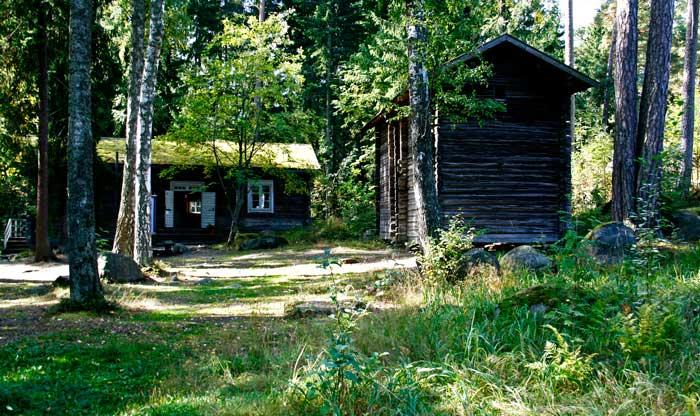 Casas tradicionales finlandesas