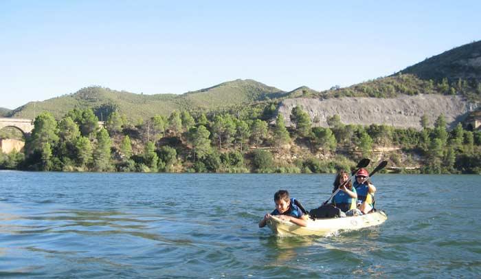 Kayak en el Camping Port Massaluca