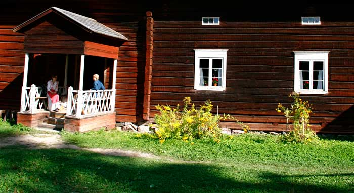 Museo de casas Seurasaari