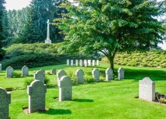 Cementerio Militar Saint Symphorien, en Mons © WBT-M.VanderLinden
