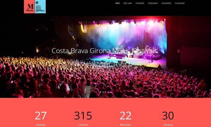 Costa Brava Girona Music festivals