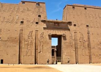 imagen Templo de Edfu, Egipto