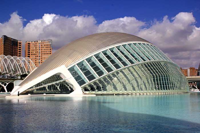 L'Hemisfèric, de Santiago Calatrava