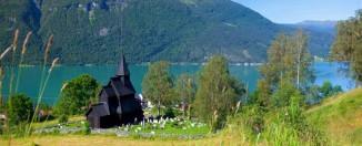 Iglesia de madera de Urnes CH - visitnorway.com