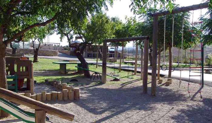 Parque infantil exterior