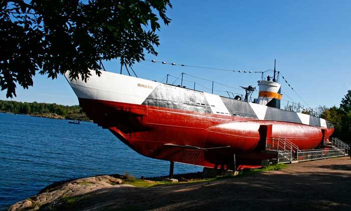 Submarino de la Armada finlandesa Vesikko, botado en el año 1933