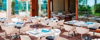 Terraza del Restaurante Arola del Hotel Arts de Barcelona