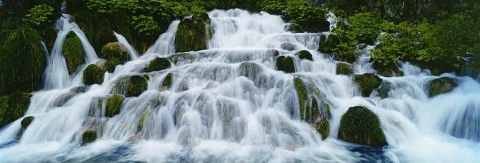 El Parque Nacional más conocido de Croacia es el de los lagos de Plitvice