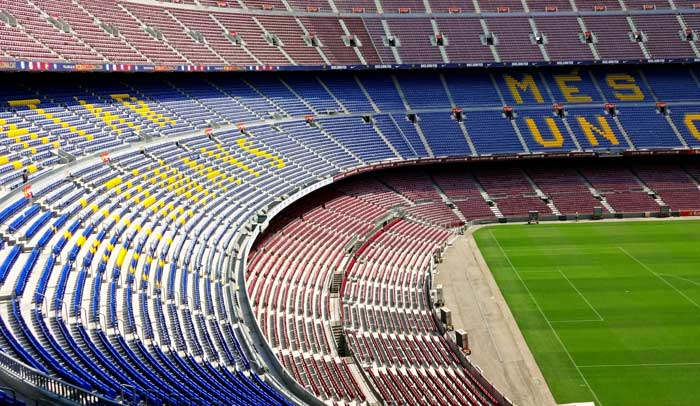 Camp Nou, estadio del Fútbol Club Barcelona