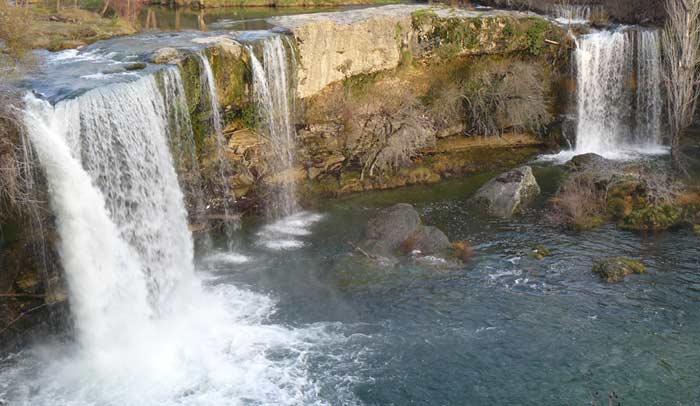 Cascada de El Peñón, en Pedrosa de Tobalina