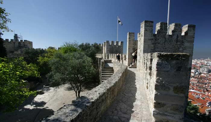 Castillo de San Jorge, en Lisboa