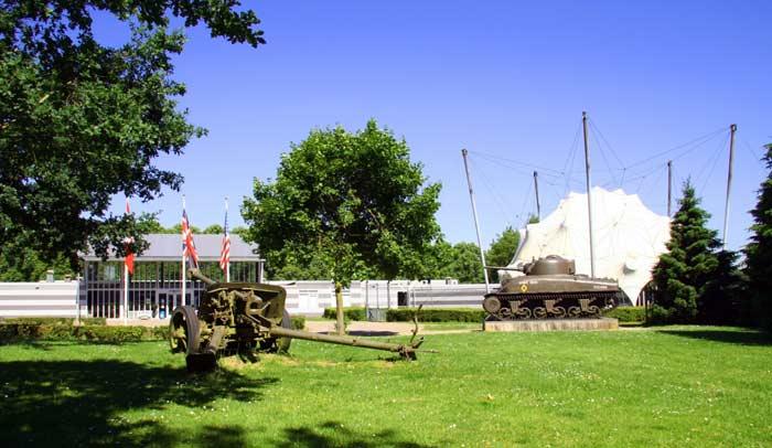 Museo Nacional de Liberación 1944-1945, en Groesbee. Foto Liberation Route Europe Foundation.