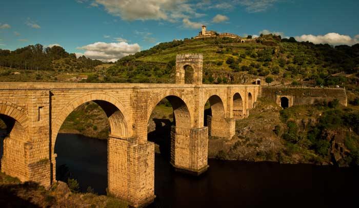 Puente de Alcántara, en Extremadura