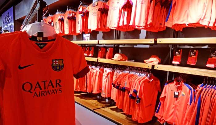 FC Barcelona Megastore, la tienda de los productos oficiales del Barça