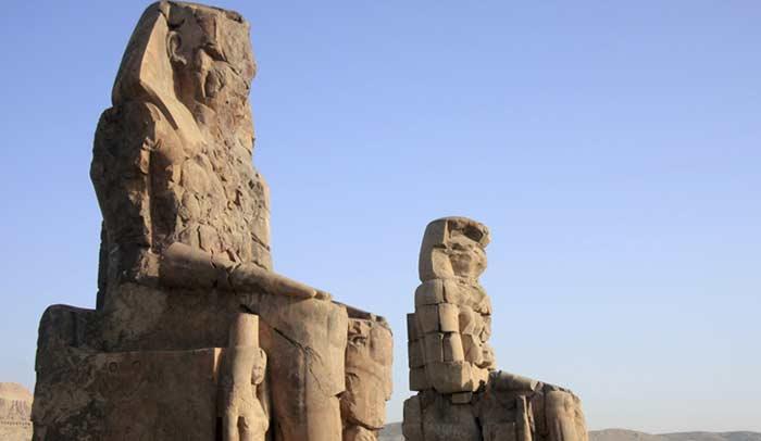 Colos de Memnón, una visita indispensable en Luxor