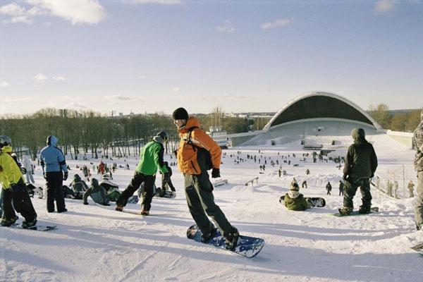 Estonia en invierno