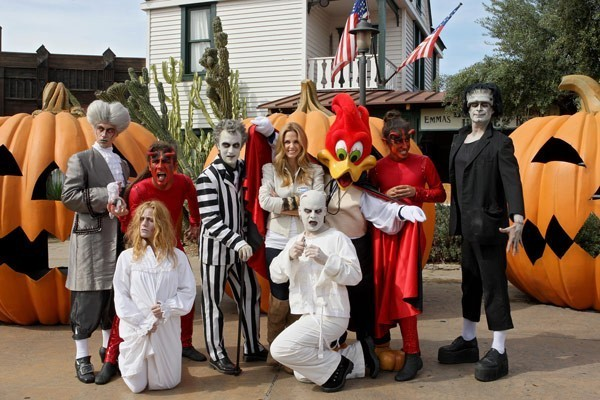 Genoveva Casanova inaugura la nueva temporada de Halloween en PortAventura