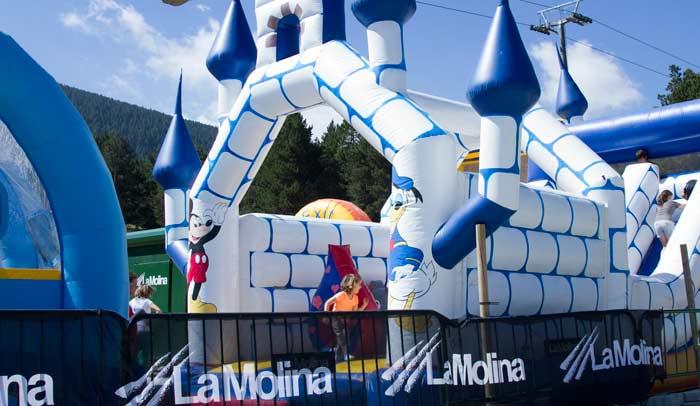 Inflables de La Molina