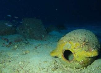 Ánfora procedente del hallazgo fenicio en Malta