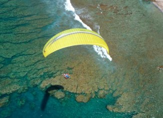 Parapente en Isla Reunión