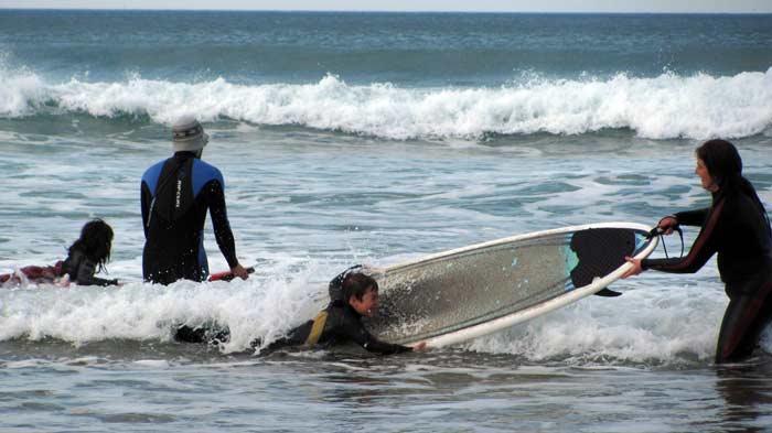Zarautz es uno de los mejores destinos para practicar el surf
