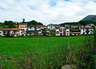 Barrio de Bozate, en Arizkun