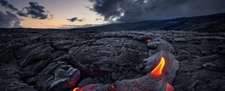 Volcán Kilahuea en Hawái