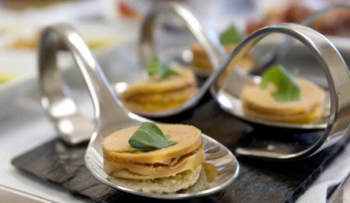 Bocados de foie. De Tapas por Galicia. © Turgalicia