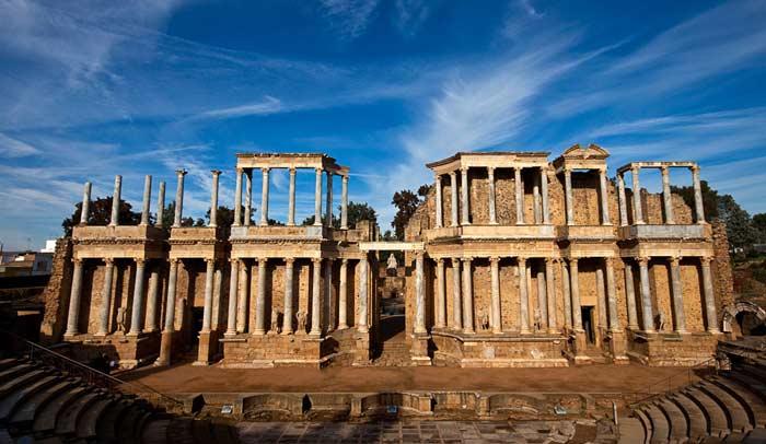 Conjunto romano de Mérida. © Turismo de Extremadura