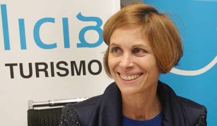 Nava Castro, directora de la Axencia de Turismo de Galicia