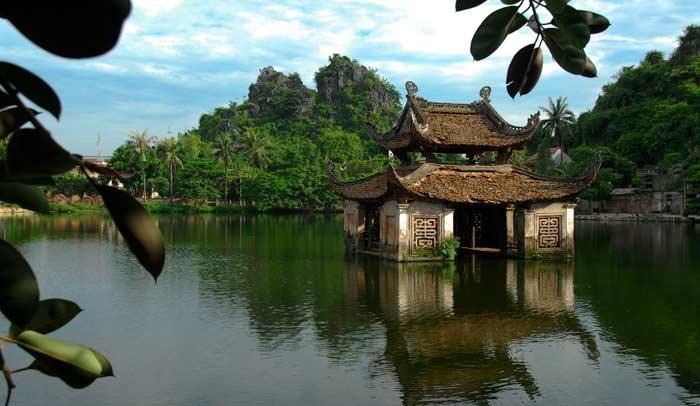 Pagoda del distrito de Quoc Oai