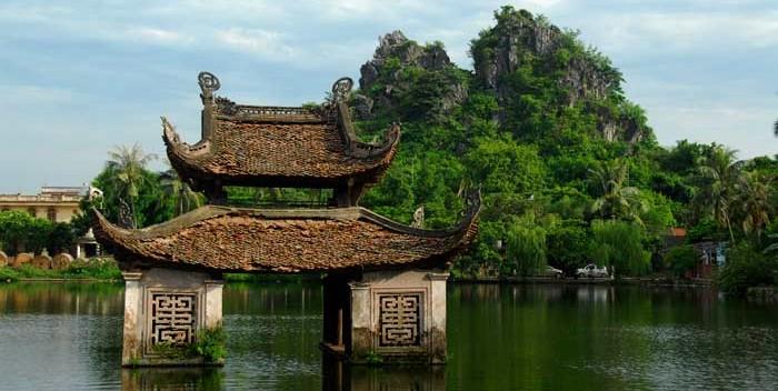Pagoda del distrito de Quoc Oai, cuna del arte de las marionetas en el agua