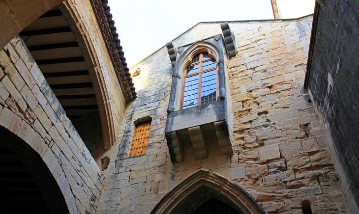 Detalle del Monasterio de Poblet