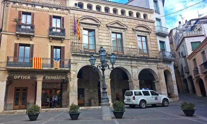 palacio de los Duques de Medinaceli, en la plaza de la Quartera