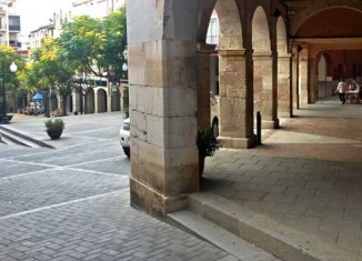 Plaza de la Quartera en Falset
