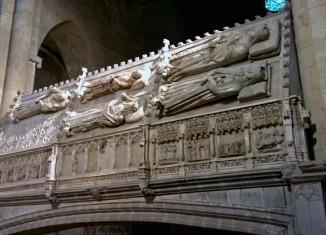 Tumbas reales del Monasterio de Poblet