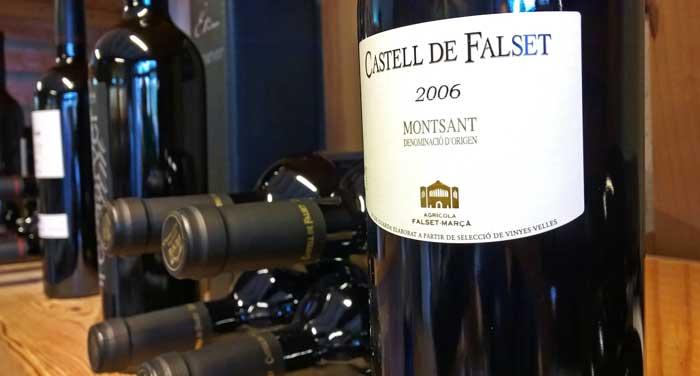 En Falset hay vinos de la DOC Priorat y la DO Montsant