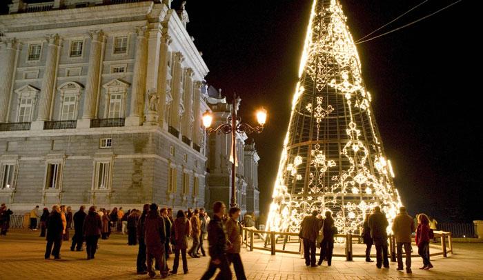 Palacio Real en Navidad © Madrid Destino