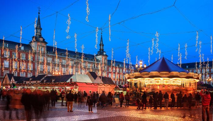 Navidad Plaza Mayor © Madrid Destino