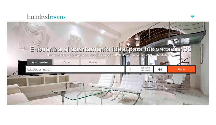 Hundredrooms.com, el primer metabuscador de apartamentos turísticos