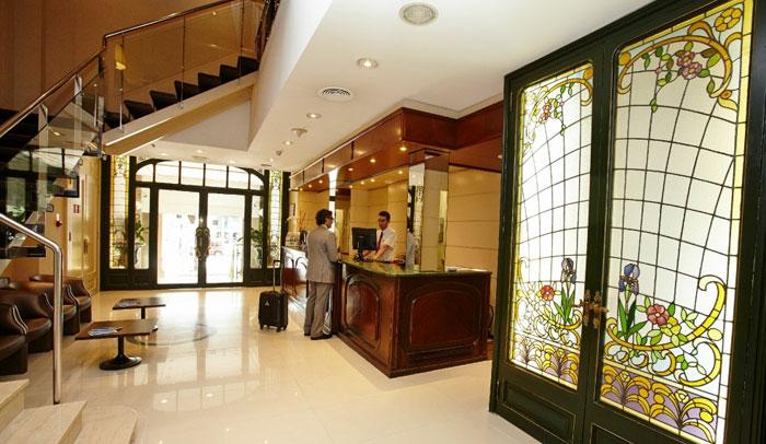 Recepción Hotel HCC Regente Barcelona