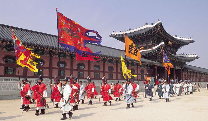 Palacio Gyeongbokgung, en Seúl
