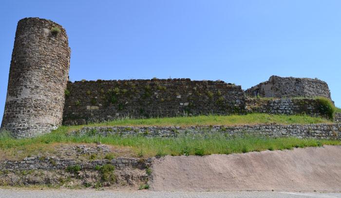 Castillo Aljezur, que pertenece a la Ruta Omeya por el Algarve