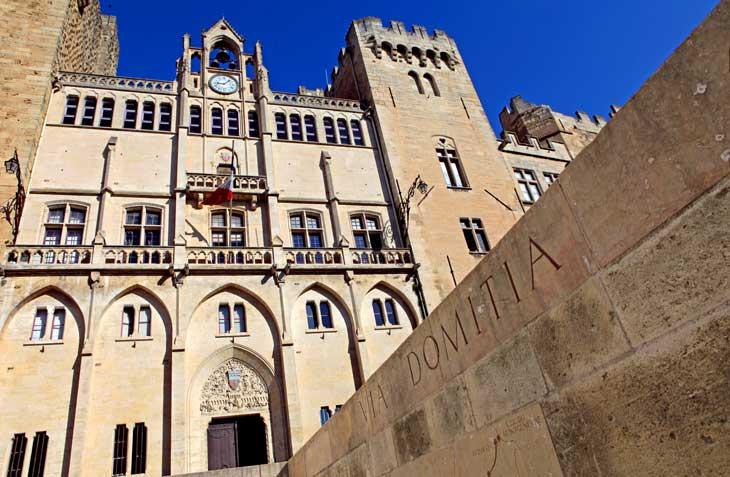 Palacio del Arzobisbo y Via Domitia a su paso por Narbona © Laurie Biral
