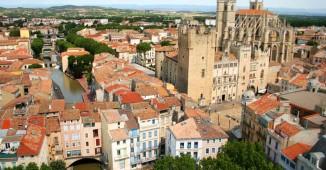 Vista aérea de Narbona
