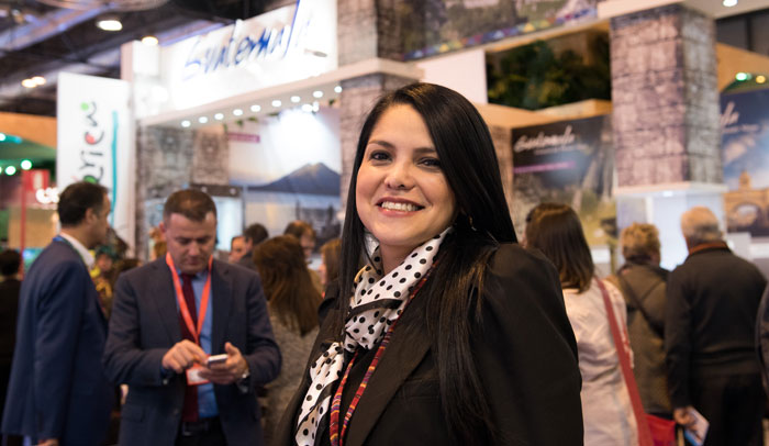Brenda Zaldaña Bustamante, Jefa División de Mercadeo del Instituto Guatemalteco de Turismo INGUAT
