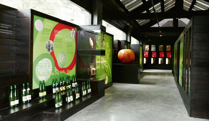 Espacio museístico del Museo de la Sidra Vasca, Sagardoetxea
