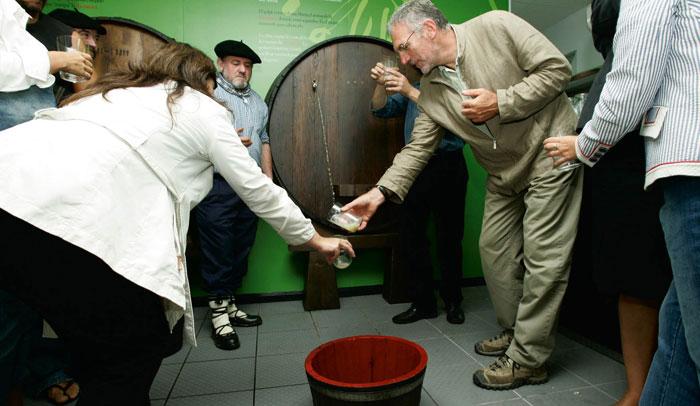 Centro de degustación y cata del Museo de la Sidra Vasca, Sagardoetxea