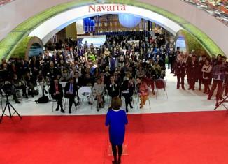 Prensentación de Navarra en Fitur 2015